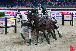 Dobrovitz Jozsef (HUN)<br /> FEI World Cup Driving<br /> Flanders Christmas Jumping - Mechelen 2012<br /> © Dirk Caremans