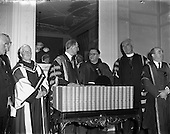 1957 – 11/04 Conferring of Honorary Degrees at Iveagh House