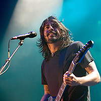 The Foo Fighters play live at the SECC..Dave Grohl
