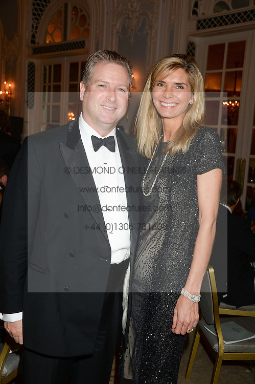 WILLIAM and LUCY ASPREY at Game & Wildlife Conservation Trust's annual ball held at The Savoy, London on 6th November 2013.