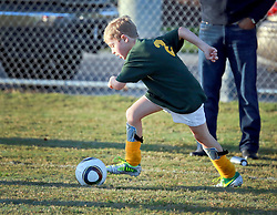 02 November 2013. Carrolton Boosters Soccer. New Orleans, Louisiana. <br /> U8 Jesters v Creepers.<br /> Photo; Charlie Varley