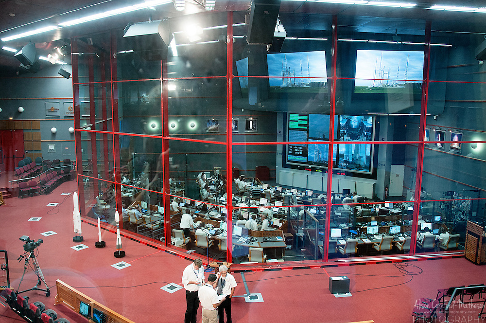 The Guianese Space Centre (Centre Spatial Guyanais) and Space Museum, in Kourou, French Guiana, an overseas territory of France in South America