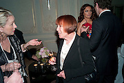 MARY QUANT, Dinner to mark 50 years with Vogue for David Bailey, hosted by Alexandra Shulman. Claridge's. London. 11 May 2010 *** Local Caption *** -DO NOT ARCHIVE-© Copyright Photograph by Dafydd Jones. 248 Clapham Rd. London SW9 0PZ. Tel 0207 820 0771. www.dafjones.com.<br /> MARY QUANT, Dinner to mark 50 years with Vogue for David Bailey, hosted by Alexandra Shulman. Claridge's. London. 11 May 2010