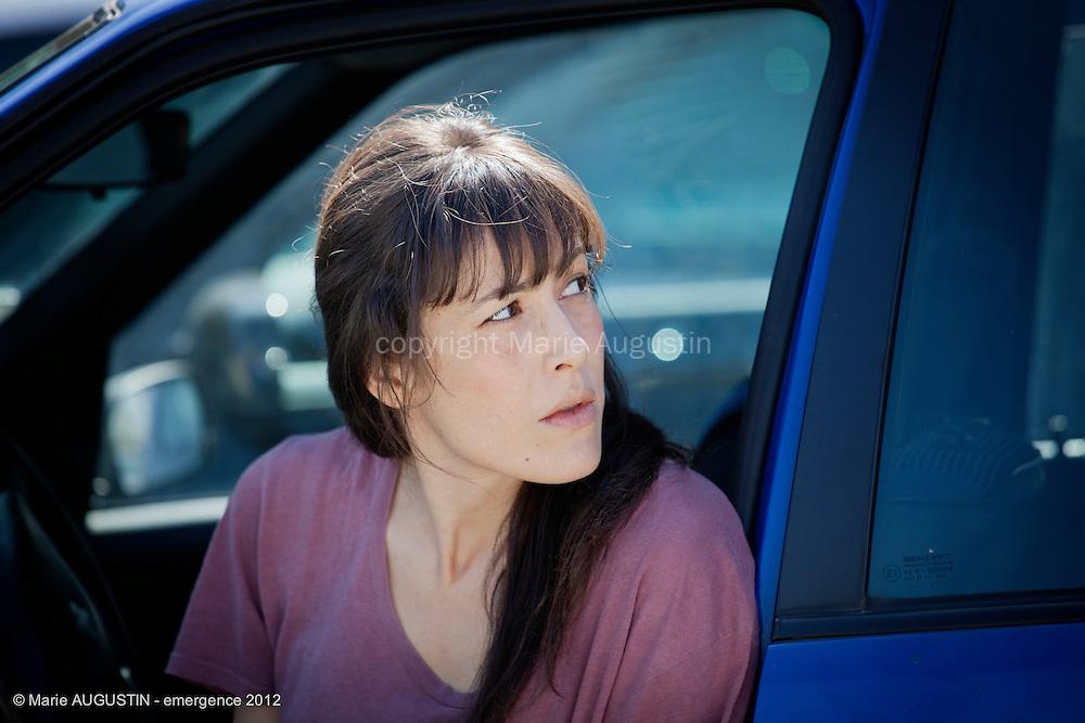 Olivia FOREST, comédienne - tournage scène imposée de Stéphane DEMOUSTIER - emergence 2012