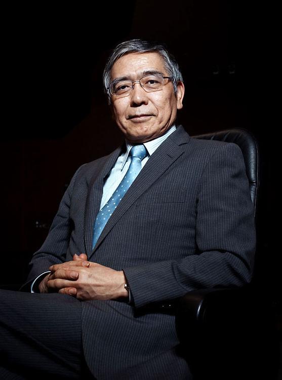 HARUHIKO KURODA / Bank of Japan Governor for Financial Times