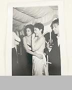 Tracy Ward and Natasha Fraser, Jermyn Wedding Ball, Ickworth, 1984.