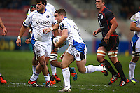 George Ford - 18.01.2015 - Toulouse / Bath - European Champions Cup<br />Photo : Manuel Blondeau / Icon Sport