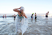 Cromer Boxing Day Dip in the North Sea 2017