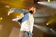Rapper Marteria auf dem Raffteich Open Air im Raffteichbad Braunschweig am 20.July 2014. Foto: Rüdiger Knuth