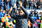 Brighton Manager, Chris Hughton during the Sky Bet Championship match between Preston North End and Brighton and Hove Albion at Deepdale, Preston, England on 5 March 2016.
