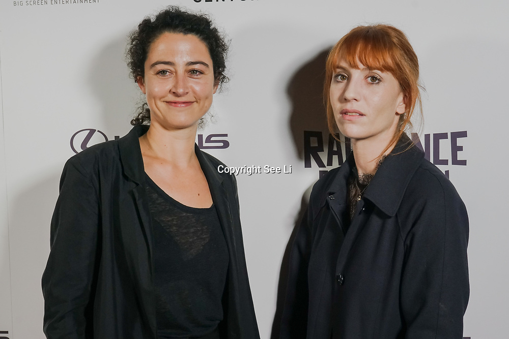 London, England, UK. 25th September 2017. Director Laura Schroeder and Actress Lolita Chammah is a French actress of Barrage attend Raindance Film Festival Screening at Vue Leicester Square, London, UK