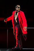 Sean Combs aka P. Diddy aka Puff Daddy aka Diddy performs at the American Airlines Center in Dallas, Texas on September 14, 2016.