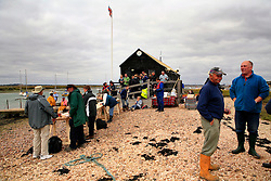 UK ENGLAND WEST MERSEA 13SEP09 - General view of the boathouse outside West Mersea, location for the annual oyster dredge match off the coast of West Mersea, Essex, England...jre/Photo by Jiri Rezac / WWF UK....© Jiri Rezac 2009