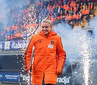 Den Bosch - Rabo fandag 2019 . hockey clinics met de spelers van het Nederlandse team. opkomst van international Laurien Leurink (Ned) .   COPYRIGHT KOEN SUYK