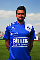 Yoann Barbet - 05.09.2014 - Photo officielle Niort - Ligue 2 2014/2015<br /> Photo : Philippe Le Brech / Icon Sport