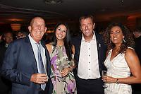 David Beckham OBE, Receives Legend of Football Award at Nordoff Robbins HMV Football Extravaganza. Tuesday 1st September 2015. Grosvenor House, Park Lane.