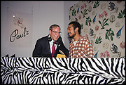 PAUL SEVIGNY; LUCIEN SMITH;, Sotheby's Frieze week party. New Bond St. London. 15 October 2014.