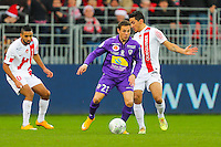 Benoit LESOIMIER  - 20.12.2014 - Brest / Ajaccio - 18eme journee de Ligue 2 -<br /> Photo : Vincent Michel / Icon Sport