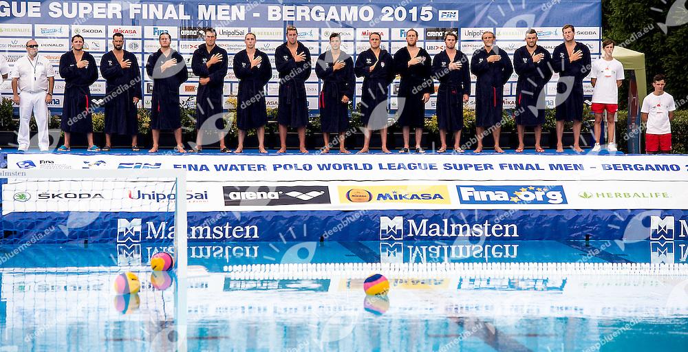 Serbia SRB - United States USA<br /> day 01 - 23/06/2015<br /> FINA Water Polo World League Superfinal Men<br /> Bergamo (ITA) 23-28 June 2015<br /> Photo G.Scala/Deepbluemedia