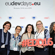 20160615 - Brussels , Belgium - 2016 June 15th - European Development Days - #EDD16 © European Union