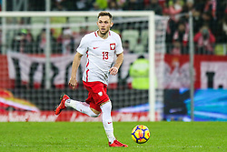 November 13, 2017 - Gdansk, Poland - Maciej Rybus (POL) during the International Friendly match between Poland and Mexico at Energa Stadium in Gdansk, Poland on November 13, 2017. (Credit Image: © Foto Olimpik/NurPhoto via ZUMA Press)