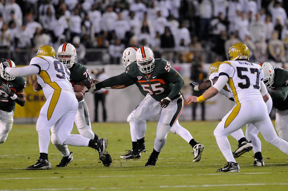 2008 Miami Hurricanes Football @ Georgia Tech