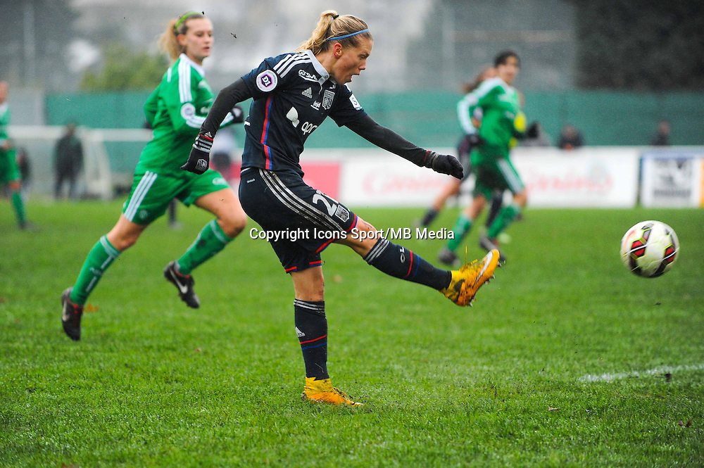 Lara DICKENMANN  - 03.12.2014 - Saint Etienne / Lyon - 11eme journee de Division 1<br /> Photo : Thomas Pictures / Icon Sport