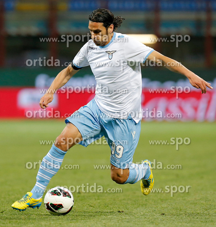 08.05.2013 Giuseppe-Meazza-Stadion, Mailand, ITA, Serie A, Inter Mailand vs Lazio Rom, 36. Runde, im Bild Sergio Floccari Lazio // during the Italian Serie A 36th round match between Inter Milan and SS Lazio at the Giuseppe Meazza Stadium, Milan, Italy on 2013/05/08. EXPA Pictures © 2013, PhotoCredit: EXPA/ Insidefoto/ Marco Bertorello..***** ATTENTION - for AUT, SLO, CRO, SRB, BIH and SWE only *****