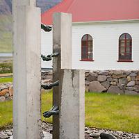 Church in Sudavik, Iceland.