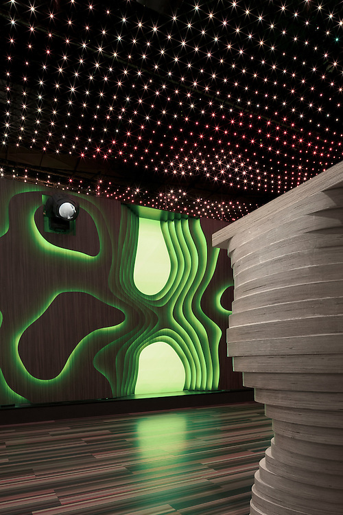 Fat Lady nightclub in Tampere, Finland designed by Arkkitehtistudio M&Y