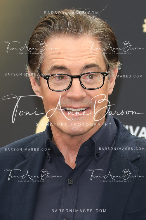"MONTE-CARLO, MONACO - JUNE 19:  Kyle MacLachlan attends ""Twin Peaks"" photocall on June 19, 2017 at the Grimaldi Forum in Monte-Carlo, Monaco.  (Photo by Tony Barson/FilmMagic)"