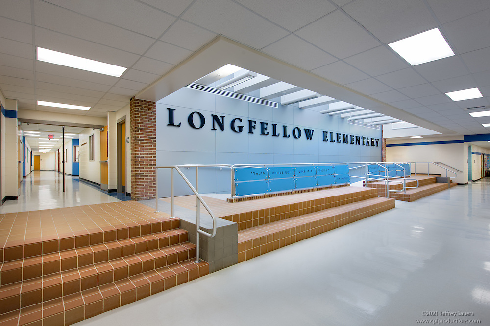 Interior Design Image Of Longfellow Elementary School In Columbia Maryland By Jeffrey Sauers Commercial Photographics