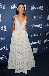 Lea Michele, 27th Annual GLAAD Media Awards, at The Beverly Hilton Hotel, April 2, 2016 - Beverly Hills, California. EXPA Pictures © 2016, PhotoCredit: EXPA/ Photoshot/ Celebrity Photo<br /> <br /> *****ATTENTION - for AUT, SLO, CRO, SRB, BIH, MAZ, SUI only*****