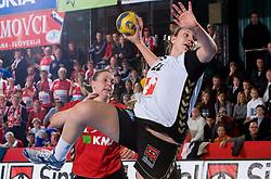 Dragana Cvijic of Krim at handball match of Round 2 of Champions League between RK Krim Mercator and Aalborg DH, on October 31, 2009, in Arena Kodeljevo, Ljubljana, Slovenia.  Krim won 30:23. (Photo by Vid Ponikvar / Sportida)