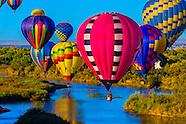 Albuquerque Int'l Balloon FIesta-Aerial Views