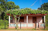 House in Arroyos de Mantua, Pinar del Rio, Cuba.