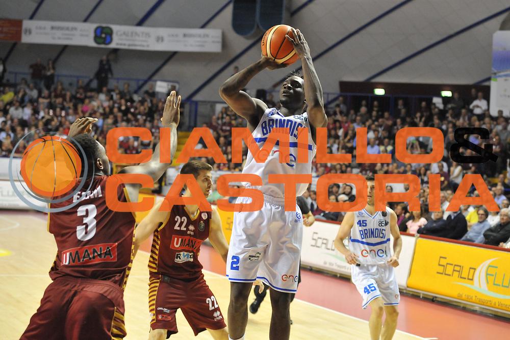 Durand Scott<br /> Umana Reyer Venezia - Enel Brindisi <br /> Lega Basket Serie A 2016/2017<br /> Venezia 07/05/2017<br /> Foto Ciamillo