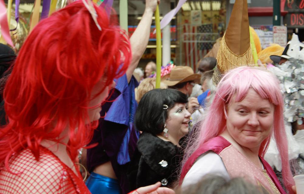 Mardi Gras Revelers, New Orleans 2008