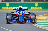 ALBERT PARK, VIC - MARCH 15: Red Bull Toro Rosso Honda driver Alexander Albon (23) at The Australian Formula One Grand Prix on March 15, 2019, at The Melbourne Grand Prix Circuit in Albert Park, Australia. (Photo by Speed Media/Icon Sportswire)