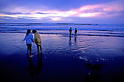 Image of the beach at Lincoln City, Oregon, Pacific Northwest