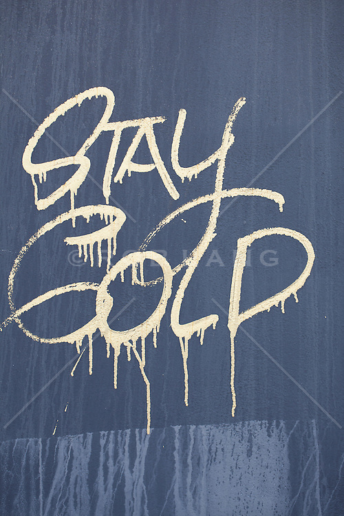 "graffiti in Florida : ""stay cold"""