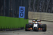 September 18-21, 2014 : Singapore Formula One Grand Prix - Sergio Perez (MEX), Force India-Mercedes