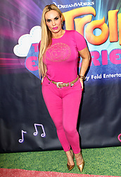 Coco Austin is seen attending the Dreamworks Trolls The Experience opening at Trolls The Experience in New York City. NON-EXCLUSIVE November 14, 2018. 14 Nov 2018 Pictured: Coco Austin. Photo credit: Nancy Rivera/Bauergriffin.com / MEGA TheMegaAgency.com +1 888 505 6342