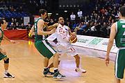 DESCRIZIONE : Milano Lega A 2011-12 EA7 Emporio Armani Milano Benetton Treviso<br /> GIOCATORE : Drew Nicholas<br /> CATEGORIA : Palleggio Fallo Equilibrio<br /> SQUADRA : EA7 Emporio Armani Milano<br /> EVENTO : Campionato Lega A 2011-2012<br /> GARA : EA7 Emporio Armani Milano Benetton Treviso<br /> DATA : 11/01/2012<br /> SPORT : Pallacanestro<br /> AUTORE : Agenzia Ciamillo-Castoria/A.Dealberto<br /> Galleria : Lega Basket A 2011-2012<br /> Fotonotizia : Milano Lega A 2011-12 EA7 Emporio Armani Milano Benetton Treviso<br /> Predefinita :