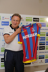 © Licenced to London News Pictures.  28/08/2014. Neil Warnock at the training ground at Copers Cope Road today 28 August 2014. Crystal Palace have appointed former boss Neil Warnock as their new manager. The 65-year-old, who was at Palace between 2007 and 2010, has signed a two-year deal after being chosen ahead of ex-West Brom boss Steve Clarke. Photo Credit: Presspics/LNP