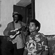 Cape Verde. bar, chez ramiro in the village Chas da Caldeira, in front of the Pic do Fogo volcano  Fogo island     / Cap-Vert:  bar chez ramiro, dans le village au pied du volcan pic de Fogo  ile de Fogo    /16