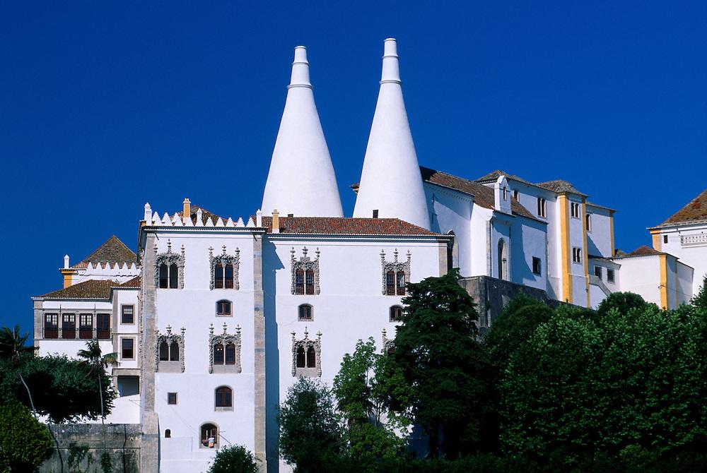 Palacio Nacional de Sintra (National Palace), Sintra, Portugal