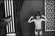 MR. TARZAN COMPETITOR, Butlins Holiday Camp, Minehead, Somerset. Summer 1979.<br /> <br /> 16 x 12 inch vintage silver gelatin print.