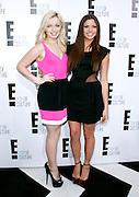 Francesca Eastwood and Morgan Eastwood attend the E! Network Upfront event at Gotham Hall in New York City, New York on April 30, 2012.