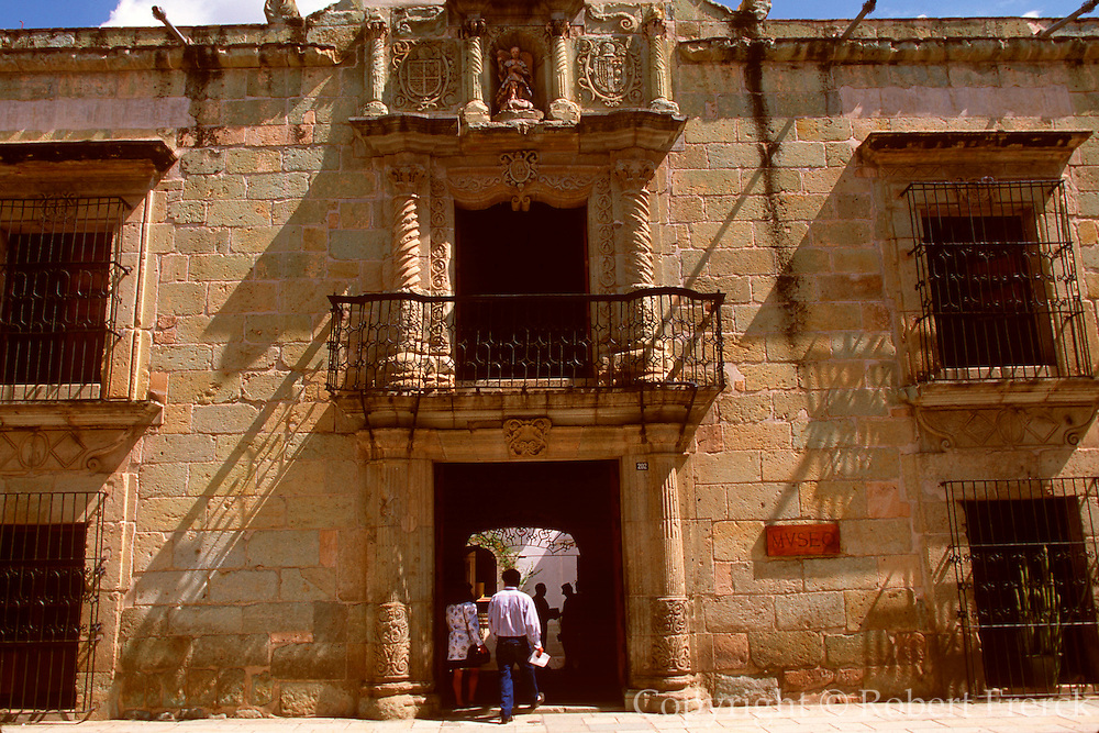 MEXICO, OAXACA STATE, COLONIAL CITIES Oaxaca; Casa de Cortes, house of Cortes when he was Marquis de Valle de Oaxaca; on Alcala near Zocalo